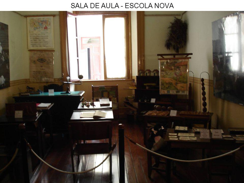 SALA DE AULA - ESCOLA NOVA