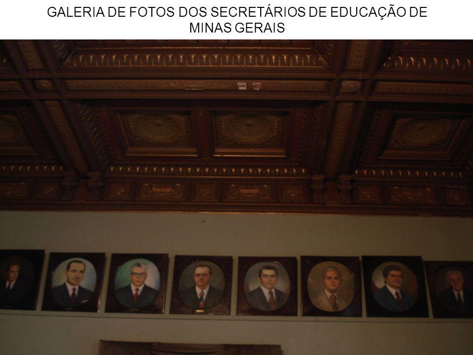 GALERIA DE FOTOS DOS SECRETÁRIOS DE EDUCAÇÃO DE MINAS GERAIS