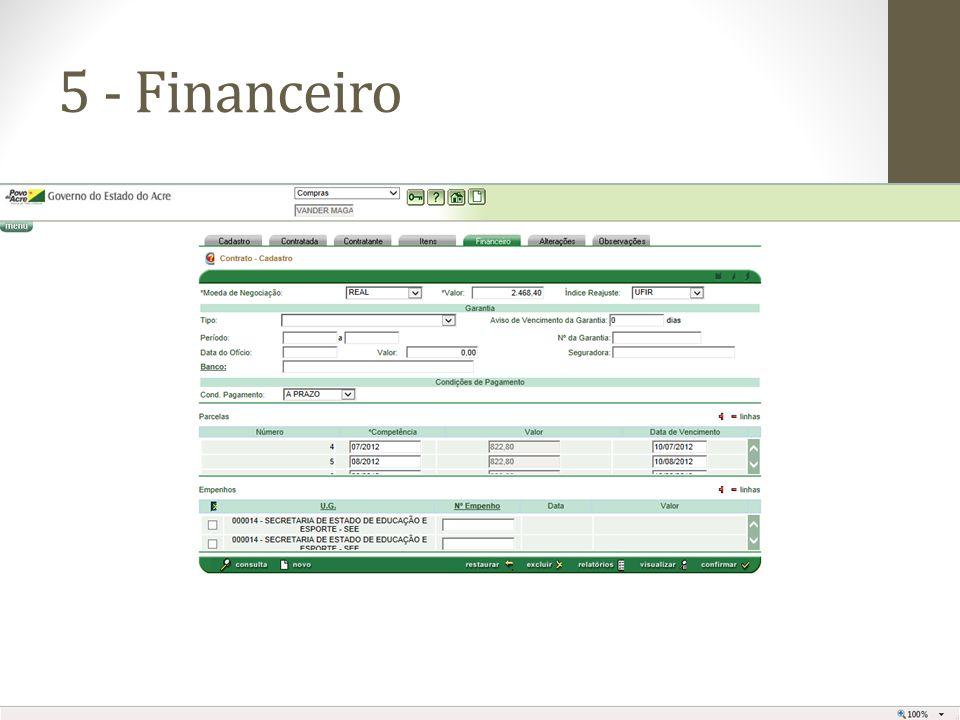 5 - Financeiro