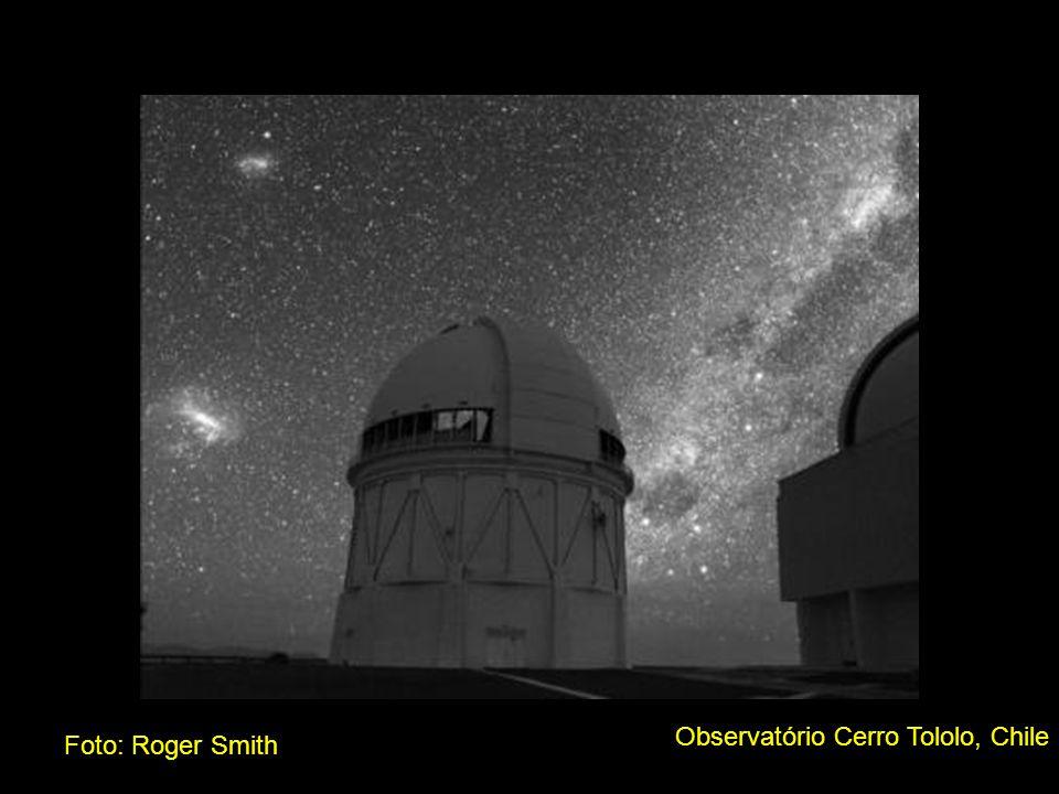 Observatório Cerro Tololo, Chile Foto: Roger Smith