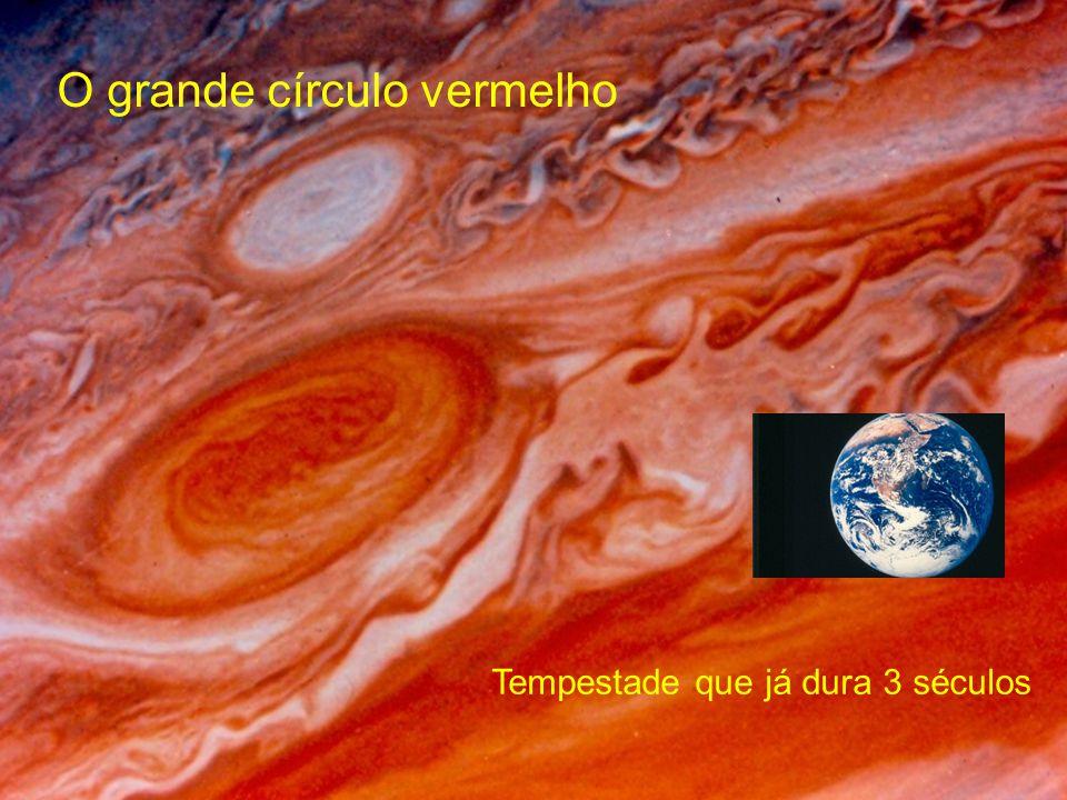 O grande círculo vermelho Tempestade que já dura 3 séculos