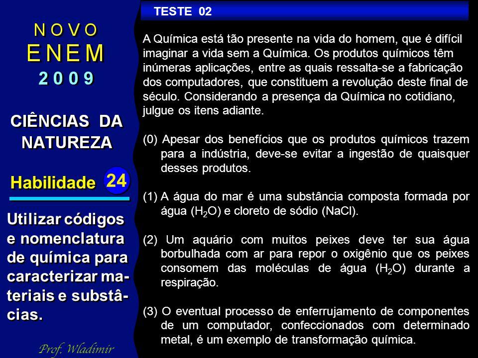 Habilidade 24 TESTE 07 Prof.