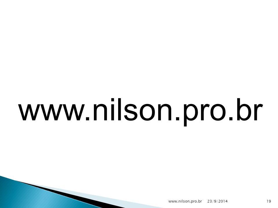 23/9/201419www.nilson.pro.br