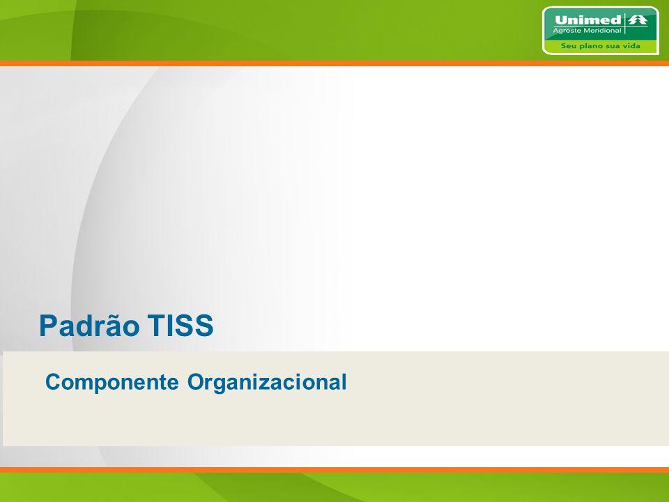 Padrão TISS Componente Organizacional