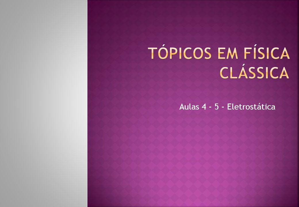Aulas 4 - 5 - Eletrostática