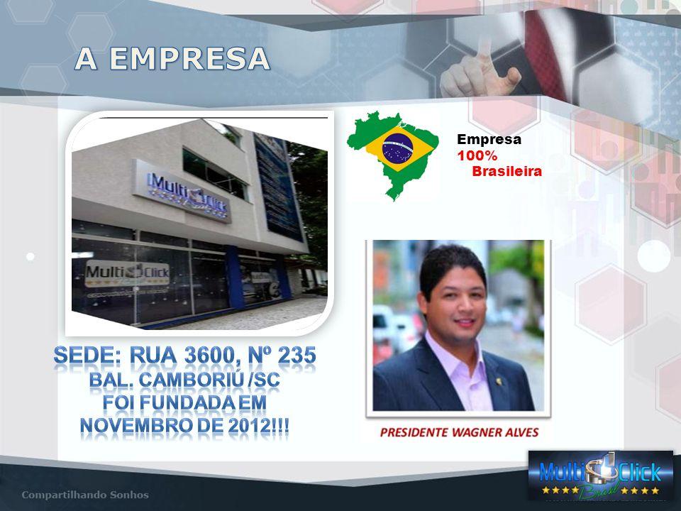 Empresa 100% Brasileira