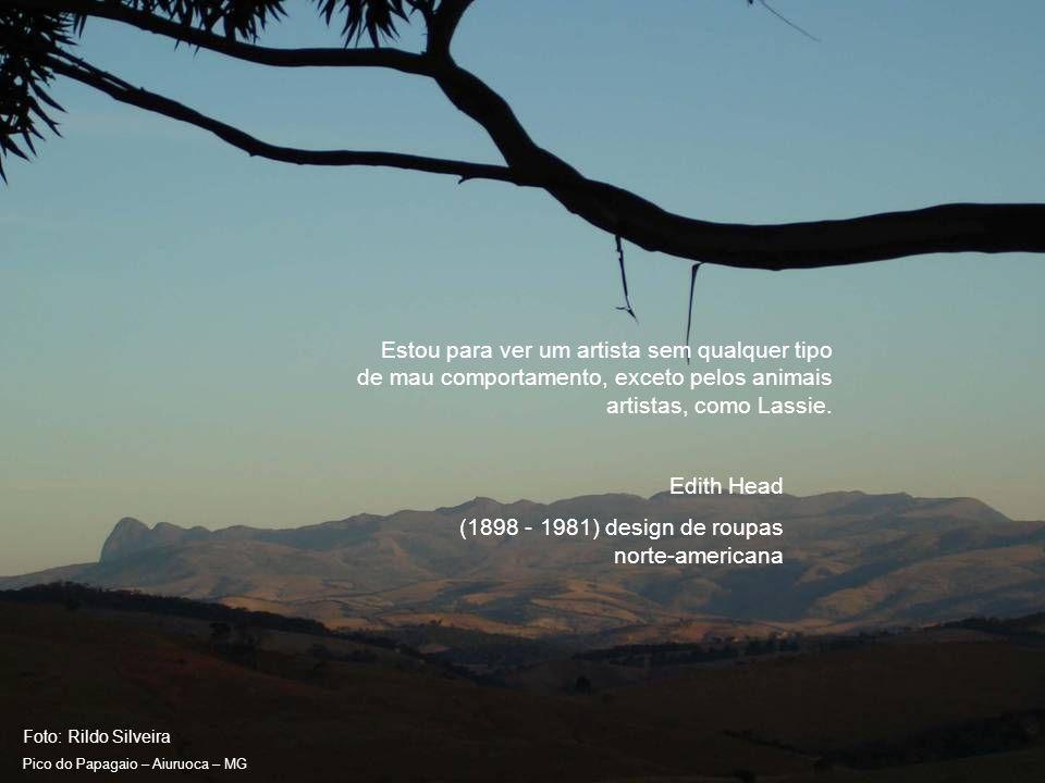 Foto: Rildo Silveira Pico do Papagaio – Aiuruoca – MG Devemos suprir os mares e pastorear seus animais...