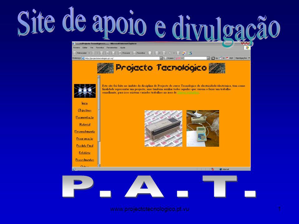 www.projectotecnologico.pt.vu1