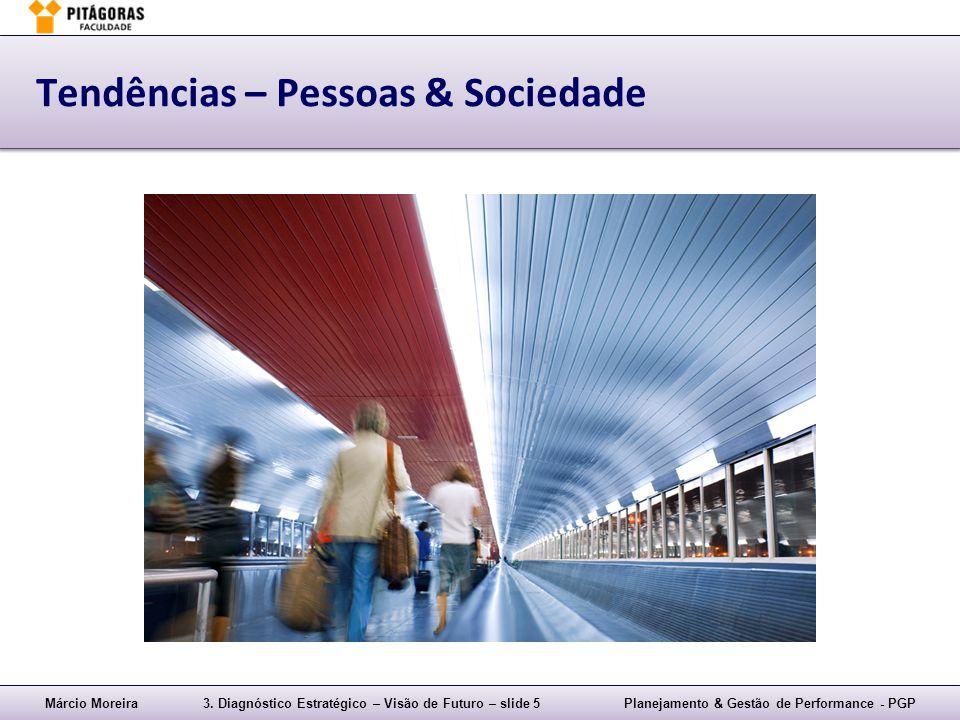 Márcio Moreira3. Diagnóstico Estratégico – Visão de Futuro – slide 5Planejamento & Gestão de Performance - PGP Tendências – Pessoas & Sociedade