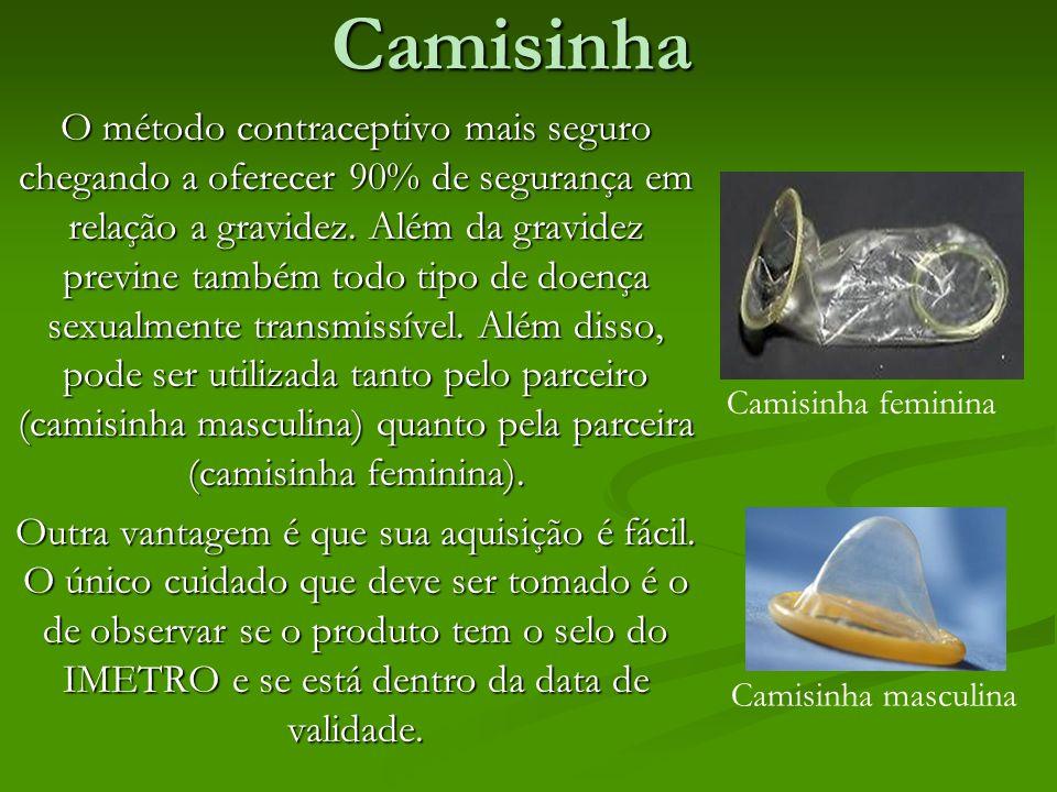 CamisinhaO método contraceptivo mais seguro chegando a oferecer 90% de segurança em relação a gravidez. Além da gravidez previne também todo tipo de d
