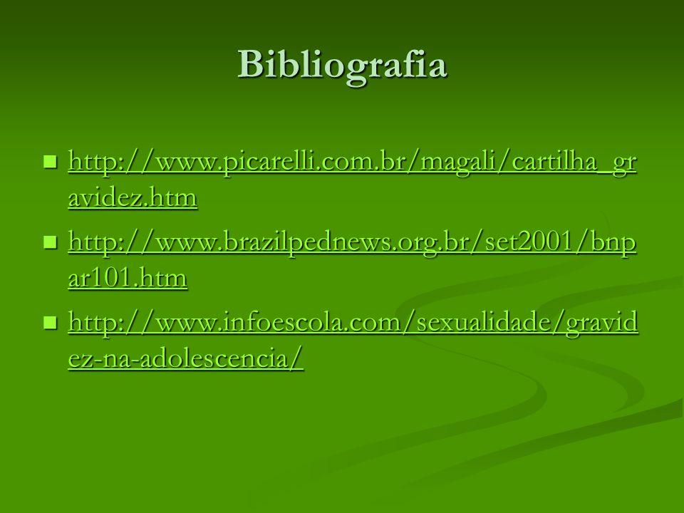 Bibliografia http://www.picarelli.com.br/magali/cartilha_gr avidez.htm http://www.picarelli.com.br/magali/cartilha_gr avidez.htm http://www.picarelli.