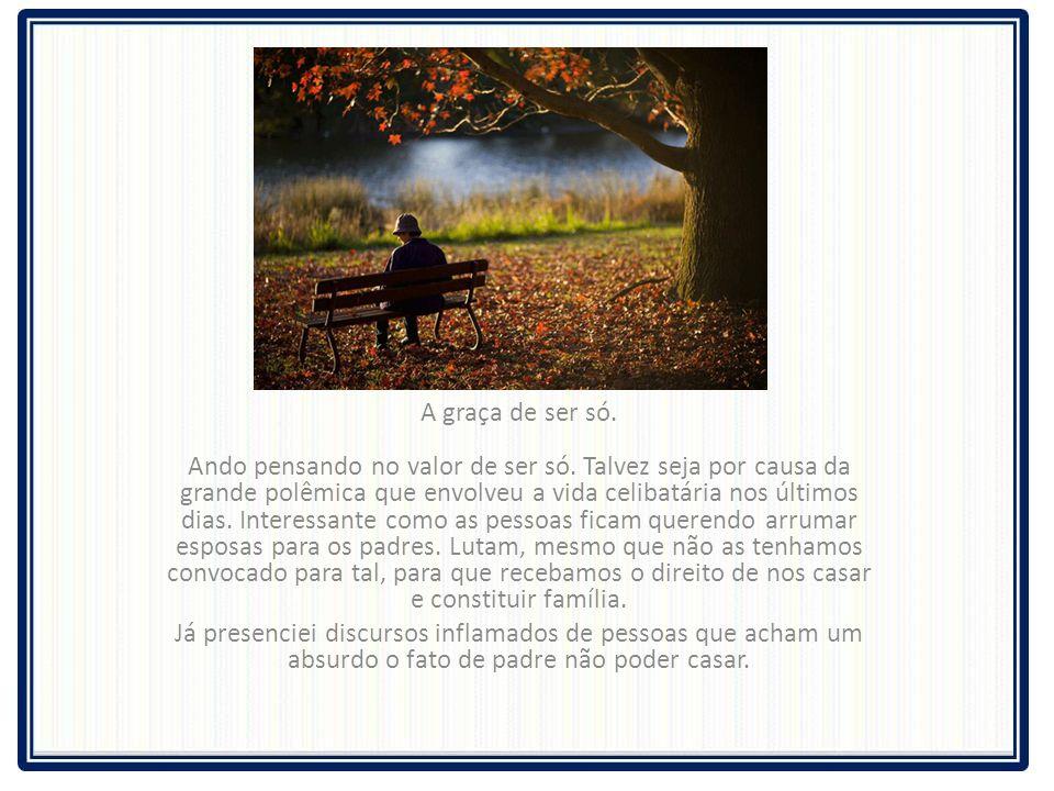 CELIBATO Carta do Padre Fábio de Mello