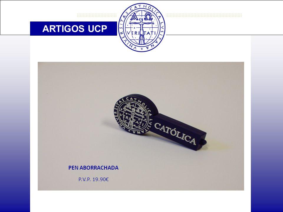 ARTIGOS UCP PEN ABORRACHADA P.V.P. 19.90€