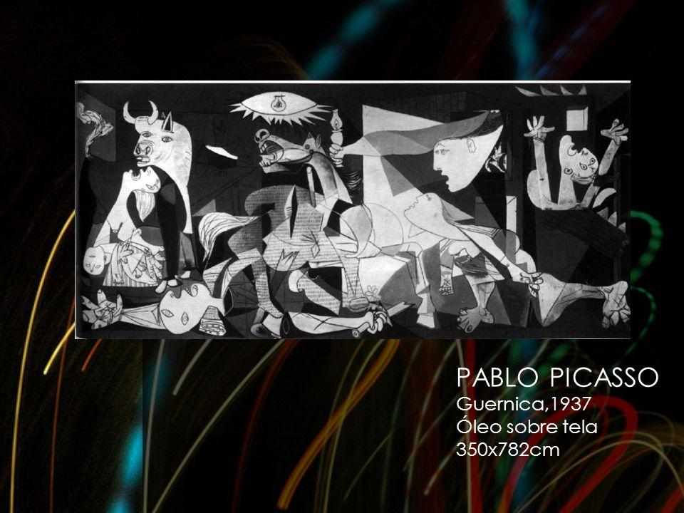 PABLO PICASSO Guernica,1937 Óleo sobre tela 350x782cm