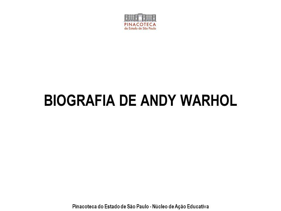 Andy Warhol Andy Warhol aos 8 anos,1936 Autorretrato (Série Pinturas), 1986, © AWF