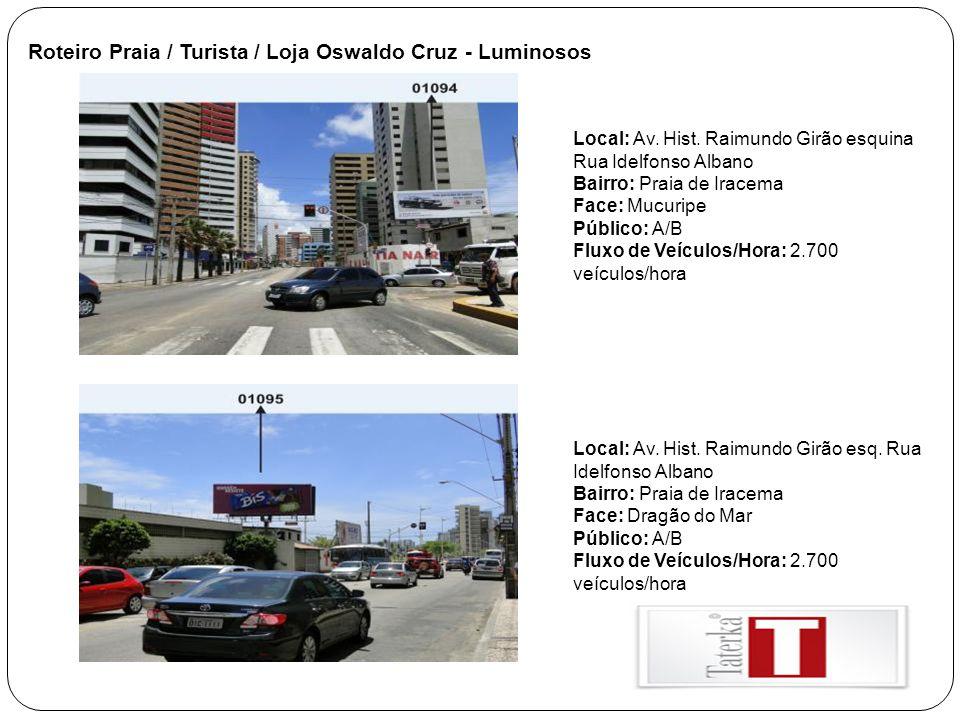 Abrigos de Ônibus ESPECIFICAÇÕES: Espaço Publicitário: 1,30 x 1,00m(painel fixo dupla face luminoso).