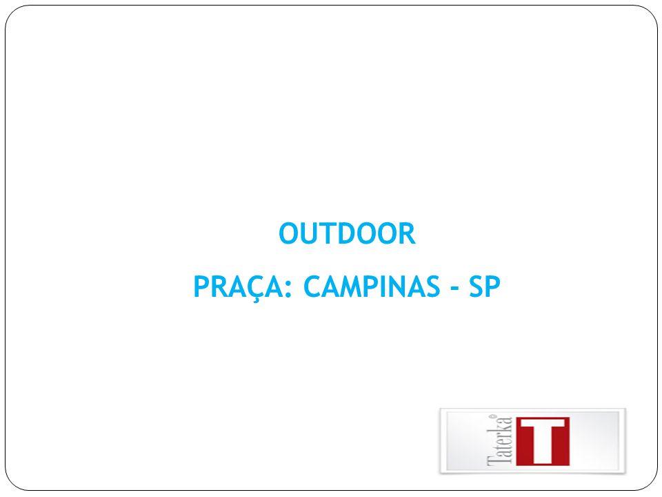 OUTDOOR PRAÇA: CAMPINAS - SP
