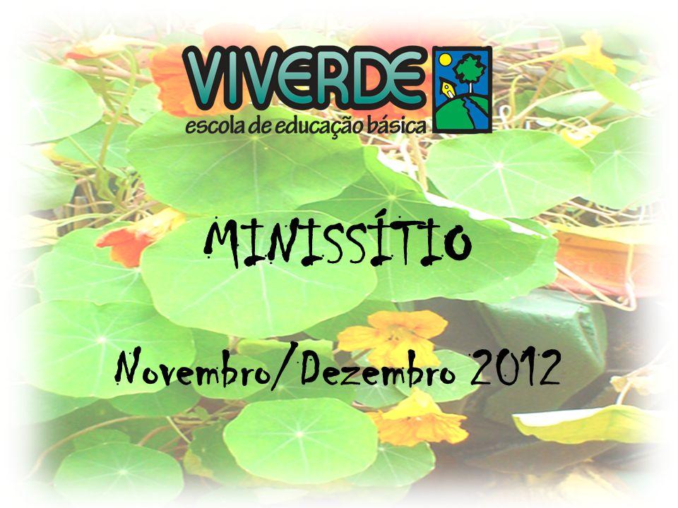 MINISSÍTIO Novembro/Dezembro 2012