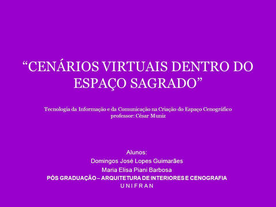 ESPAÇO CONSERVADOR CENÁRIO VIRTUAL
