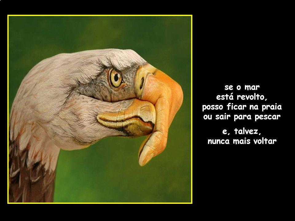 se o mar está revolto, posso ficar na praia ou sair para pescar e, talvez, nunca mais voltar adao-las@ig.com.br
