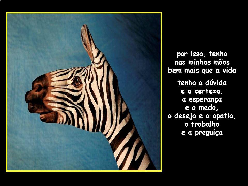 adao-las@ig.com.br por isso, tenho nas minhas mãos bem mais que a vida tenho a dúvida e a certeza, a esperança e o medo, o desejo e a apatia, o trabalho e a preguiça