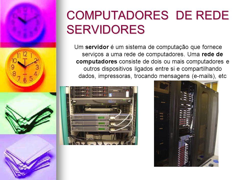 WORKSTATION Estação de trabalho (do inglês Workstation) é o nome genérico dado a computadores situados, em termos de potência de cálculo, entre o computador pessoal e o computador de grande porte, ou mainframe.