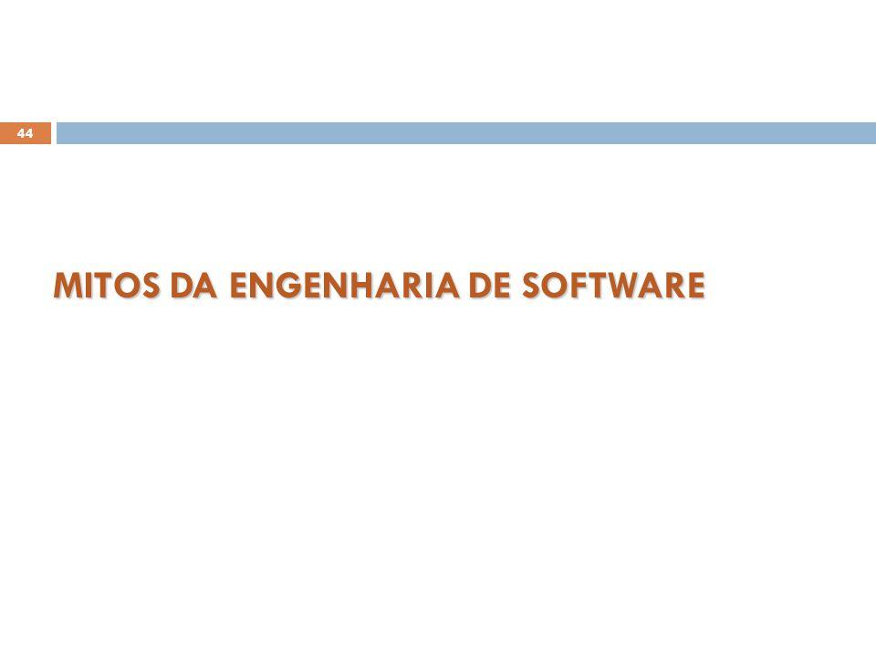 MITOS DA ENGENHARIA DE SOFTWARE 44