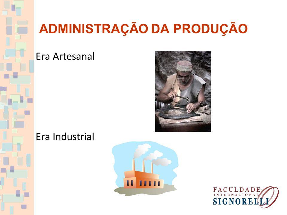 Era Artesanal Era Industrial