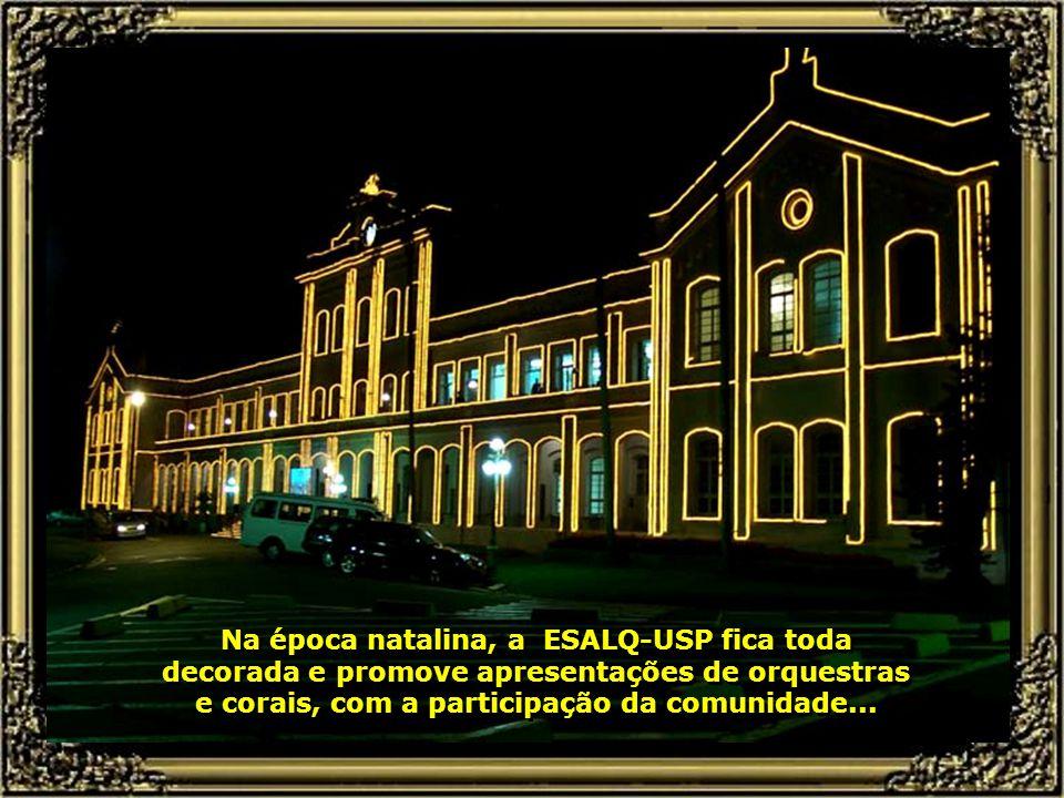 E a partir de agora, a ESALQ-USP é responsável pelo gerenciamento do Pólo Nacional de Bio- Combustíveis, cuja sede é Piracicaba...