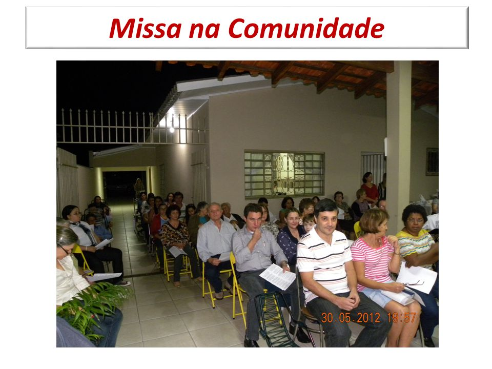 Missa na Comunidade