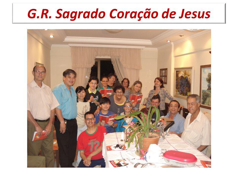 Atualmente temos seis grupos de reflexão: Divina Luz, Nossa Senhora Aparecida, Rainha da Paz, Renascer de Uma Luz, Sagrada Família e Sagrado Coração de Jesus;