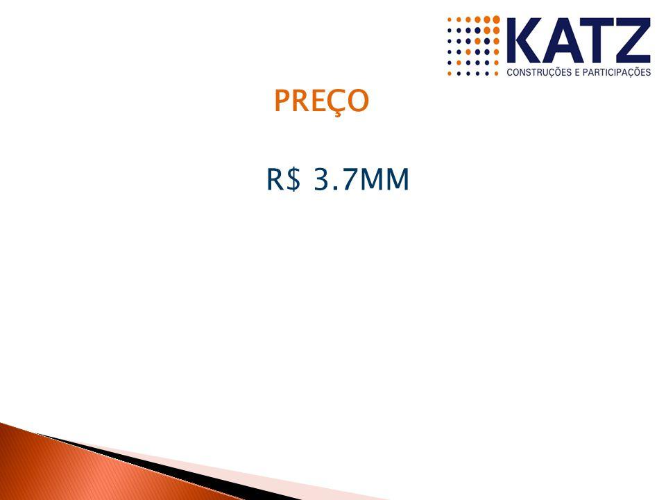 PREÇO R$ 3.7MM