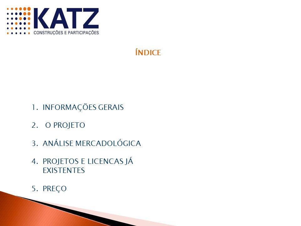 ÍNDICE 1.INFORMAÇÕES GERAIS 2.