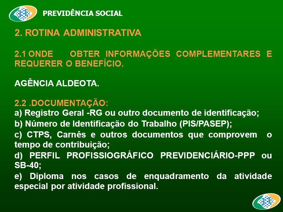 PREVIDÊNCIA SOCIAL 2.