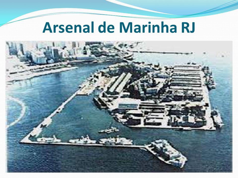 Na primeira metade do Século XIX, o Arsenal da Bahia foi o maior estaleiro construtor, sendo o Arsenal do Rio de Janeiro um centro de reparos navais, circunstância essa que forçou a sua modernização, a partir de 1840, foi contínua a ampliação e modernização do Arsenal do Rio, com a implantação de novas oficinas e com a vinda dos primeiros brasileiros formados em engenharia naval na Europa.