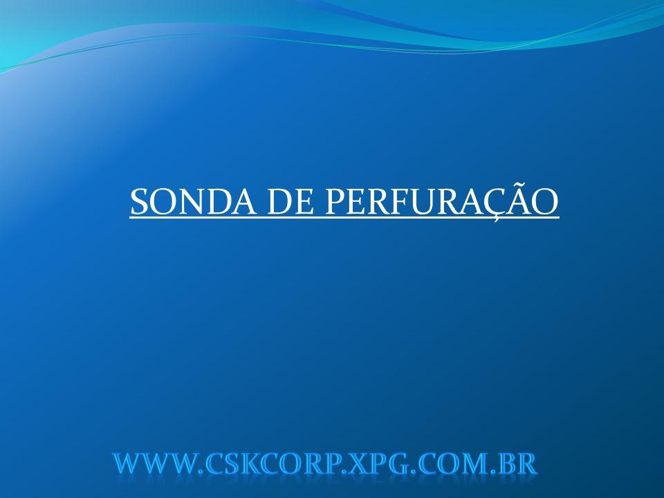 SONDA DE PERFURAÇÃO