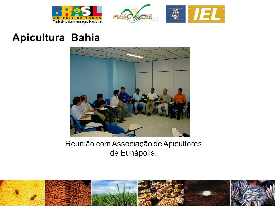Ministério da Integração Nacional ApiculturaBahia Reunião com Associação de Apicultores de Eunápolis.