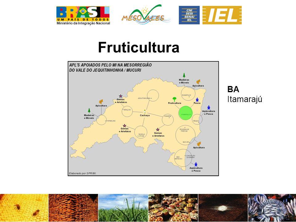 Ministério da Integração Nacional Fruticultura BA Itamarajú