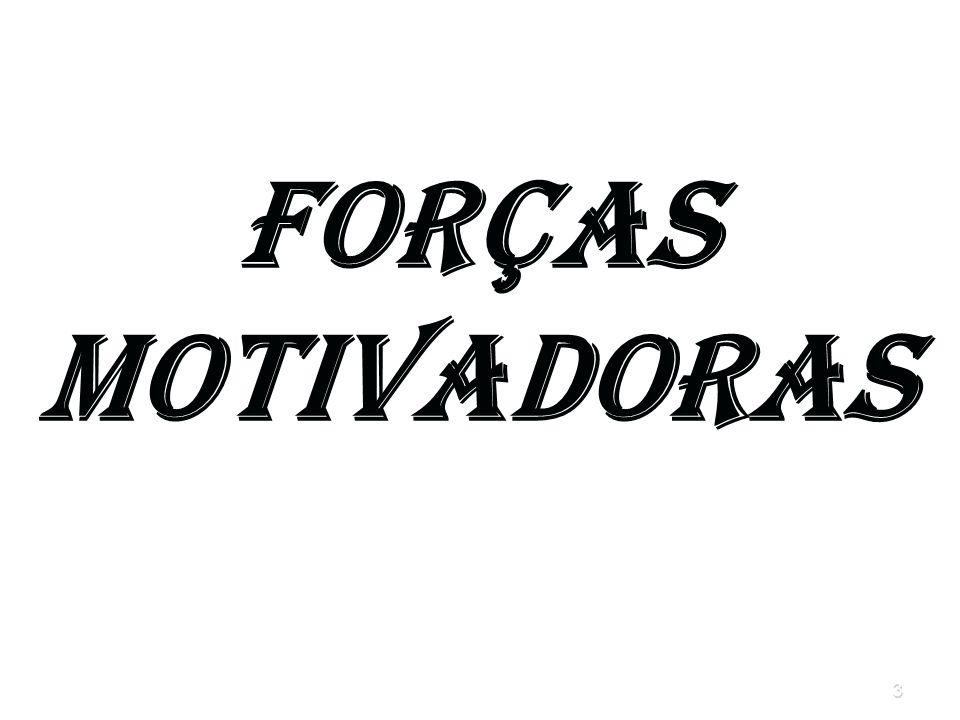 3 Forças Motivadoras