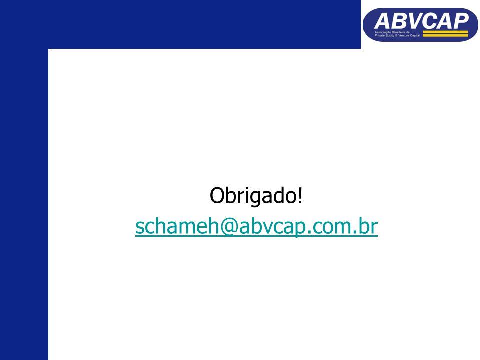 Obrigado! schameh@abvcap.com.br