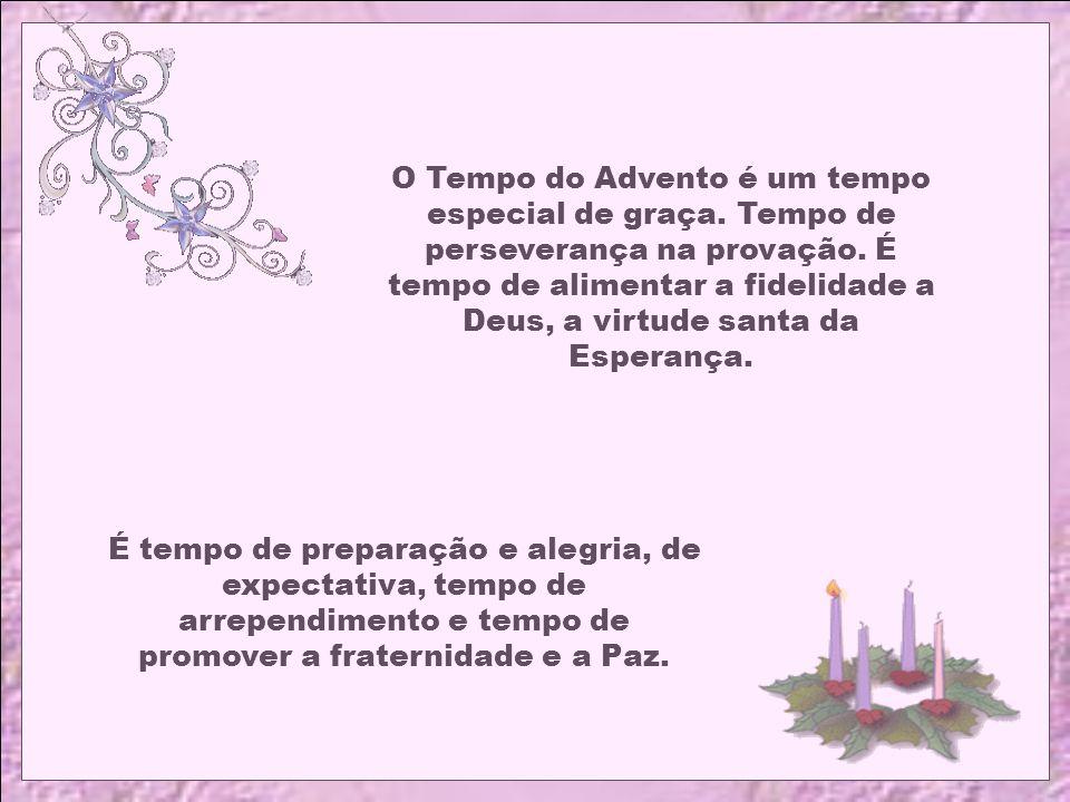 Caríssimos, O Advento é o primeiro tempo do Ano Litúrgico. Tempo que precede o Natal do Senhor Jesus. Para nós cristãos é um tempo de espera e de prep