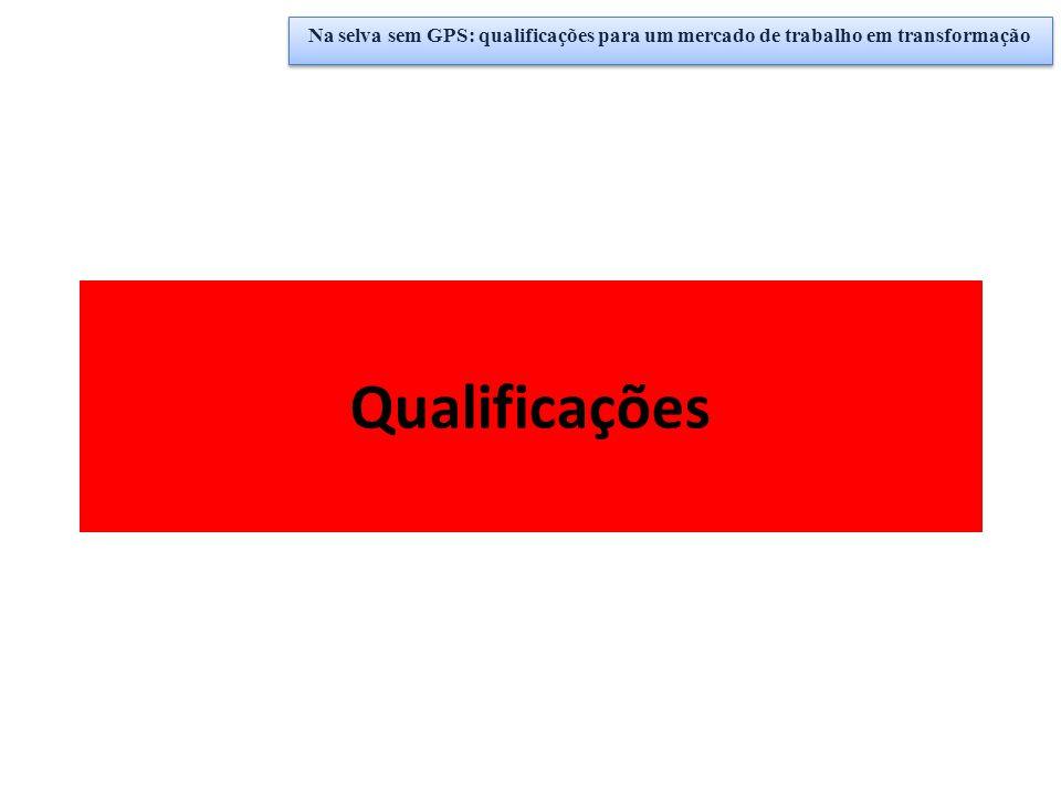 Qualificações Na selva sem GPS: qualificações para um mercado de trabalho em transformação