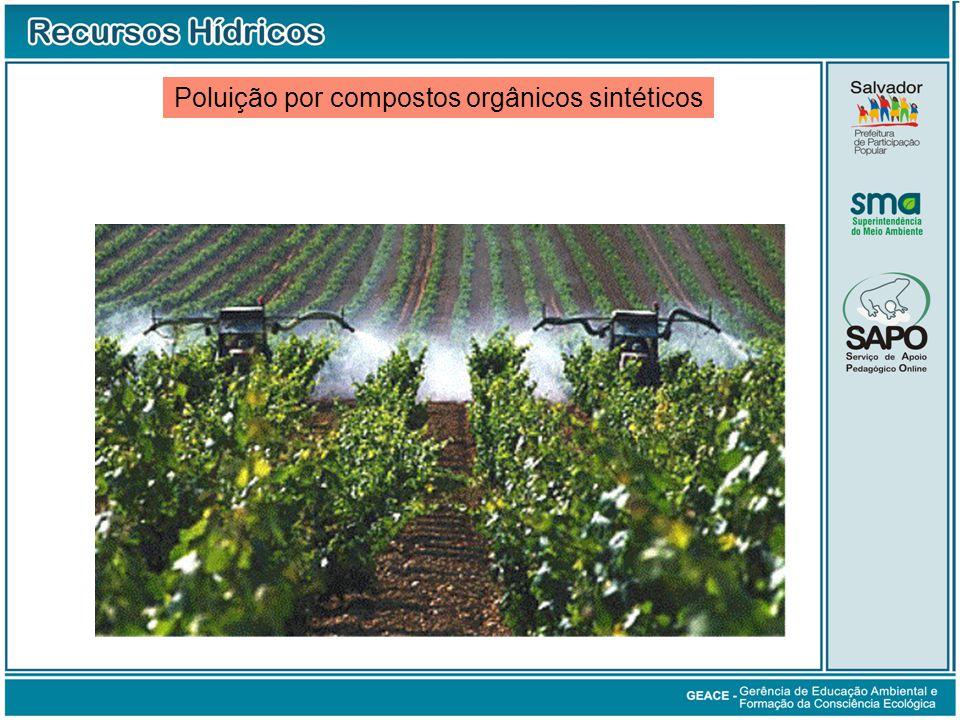 Poluição por compostos orgânicos sintéticos Poluição por Compostos Orgânicos Sintéticos