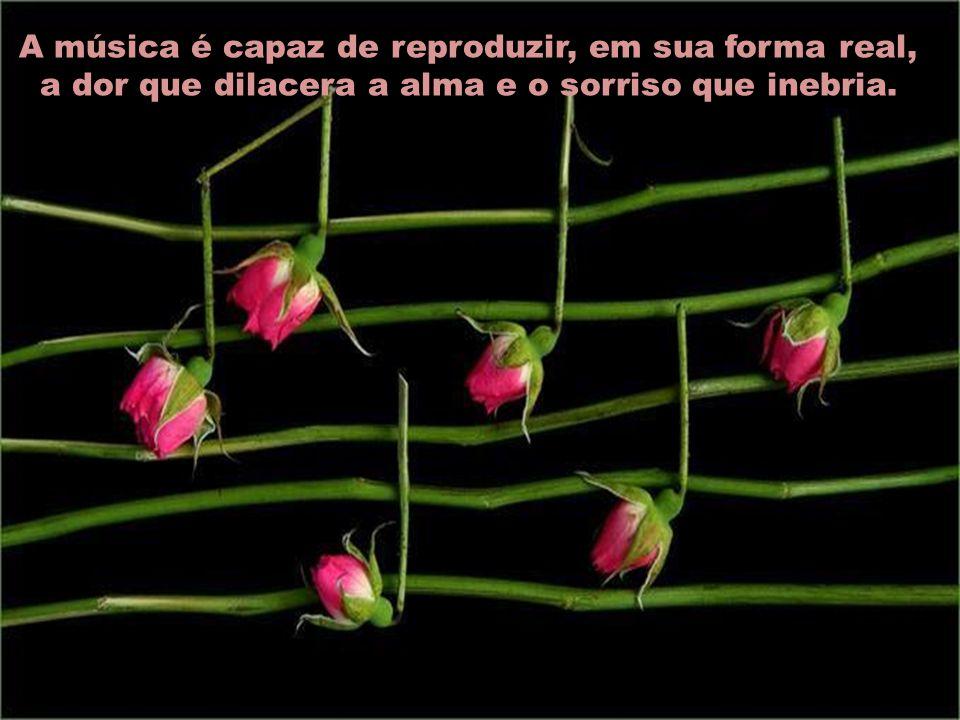 A música é a linguagem dos espíritos.