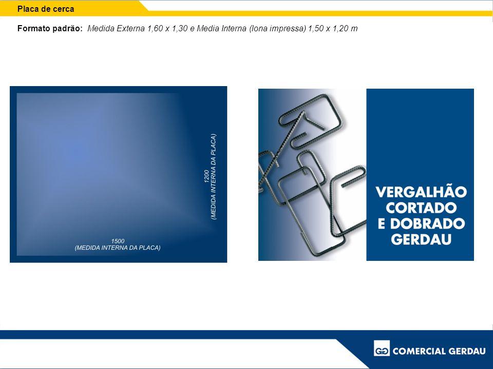 Placa de segurança Exemplos de placas modelo PSP