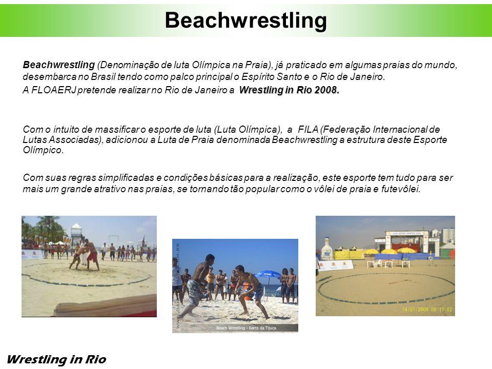 Wrestling In Rio – 2ª Quinzena de Março de 2008 Rio de Janeiro ( zona Sul ).