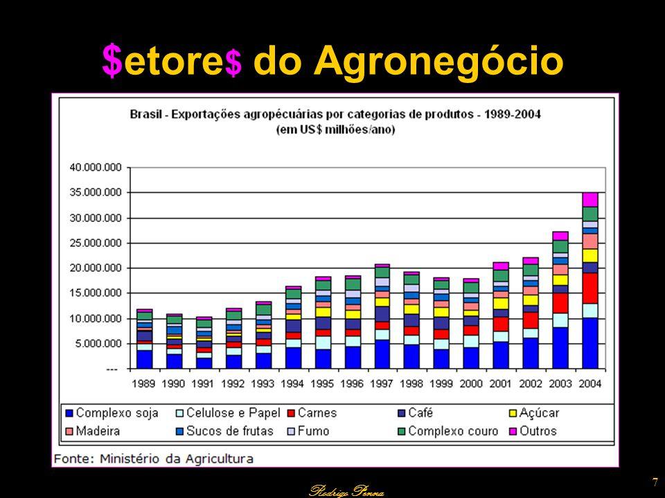 28 TRAÇADORES NA AGROPECUÁRIA A compreensão da fisiologia de uma determinada espécie de planta de interesse comercial, como a soja ou a cana-de-açúcar, é fundamental para uma maior eficiência em sua cultura.
