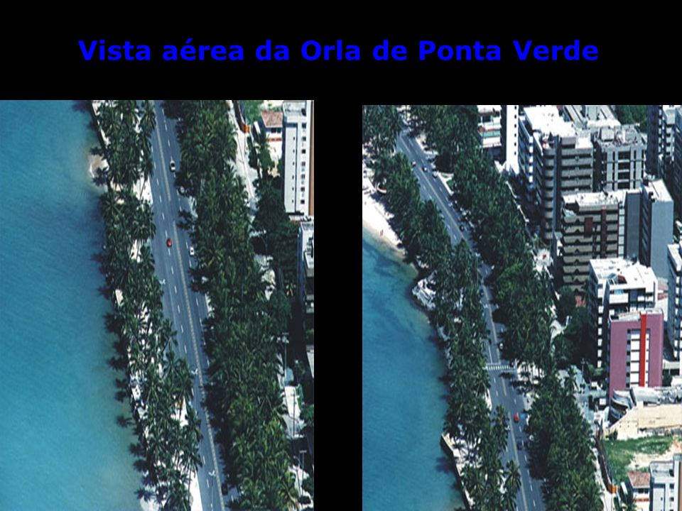 Divisa das praias Ponta Verde e Cruz das Almas