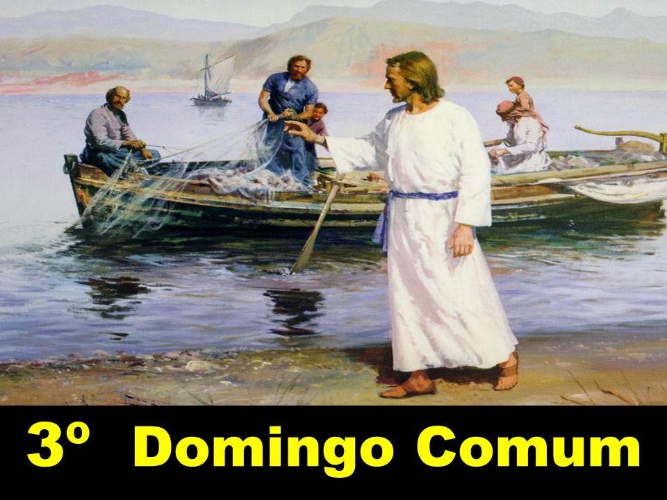 Eles imediatamente deixaram a barca e o pai e o seguiram. Evangelho