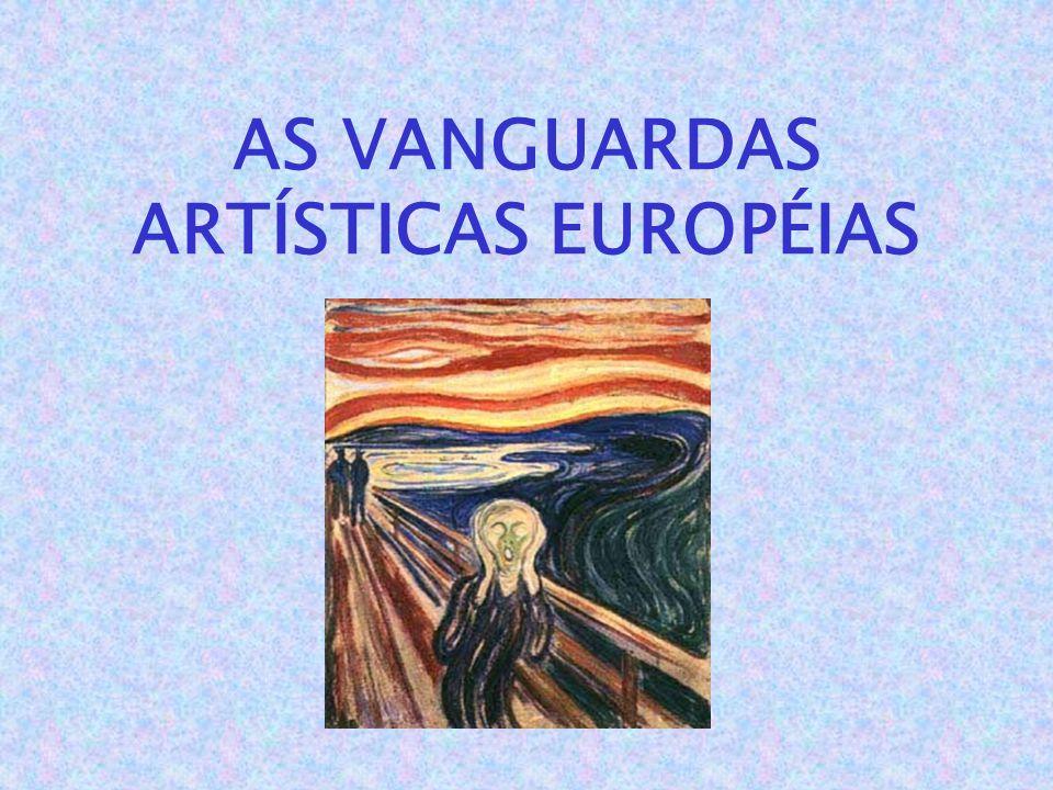 Como expressão dos avanços sociais, culturais, tecnológicos e industriais, surgem na Europa, nas duas décadas iniciais do século XX, vários movimentos artísticos e culturais, que passaram a ser conhecidos como VANGUARDAS .